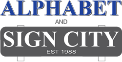 Alphabet & Sign City Logo